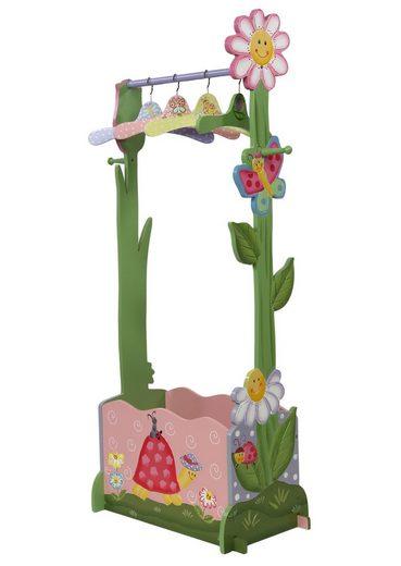FantasyFields® Garderobenständer »Magic Garden«, mit Kleiderbügeln und Schuhfach