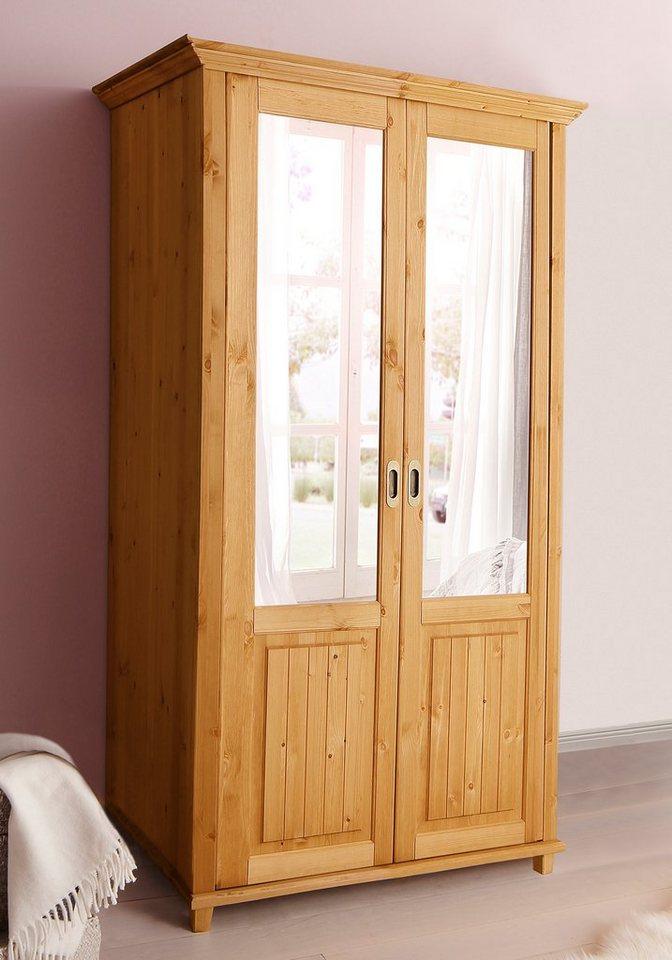 kleiderschrank home affaire emilia kaufen otto. Black Bedroom Furniture Sets. Home Design Ideas