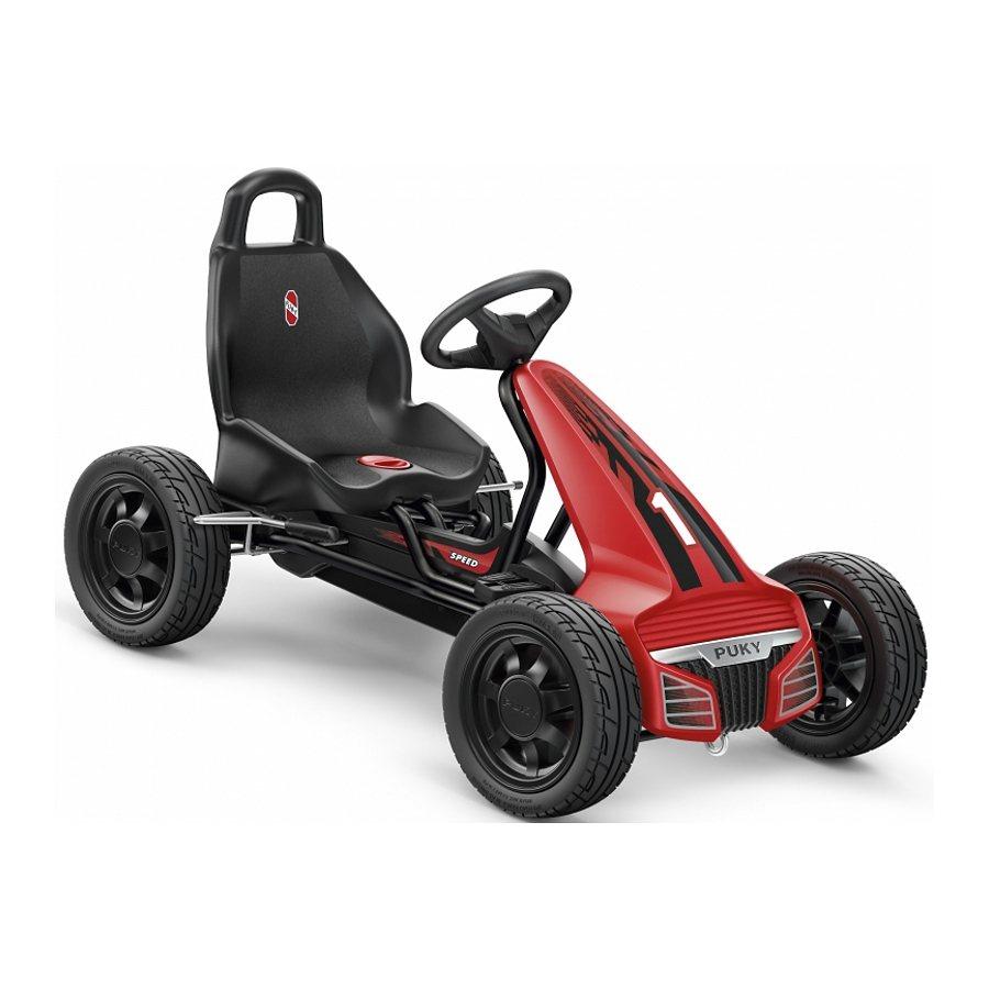 Puky Kinderfahrzeug »F 550L GoKart schwarz« in schwarz