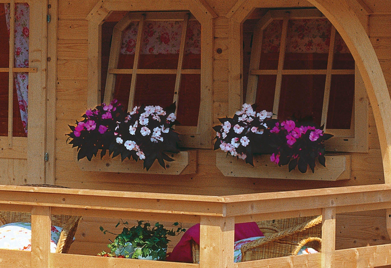 Blumenkasten, inkl. Kunstoffeinsatz