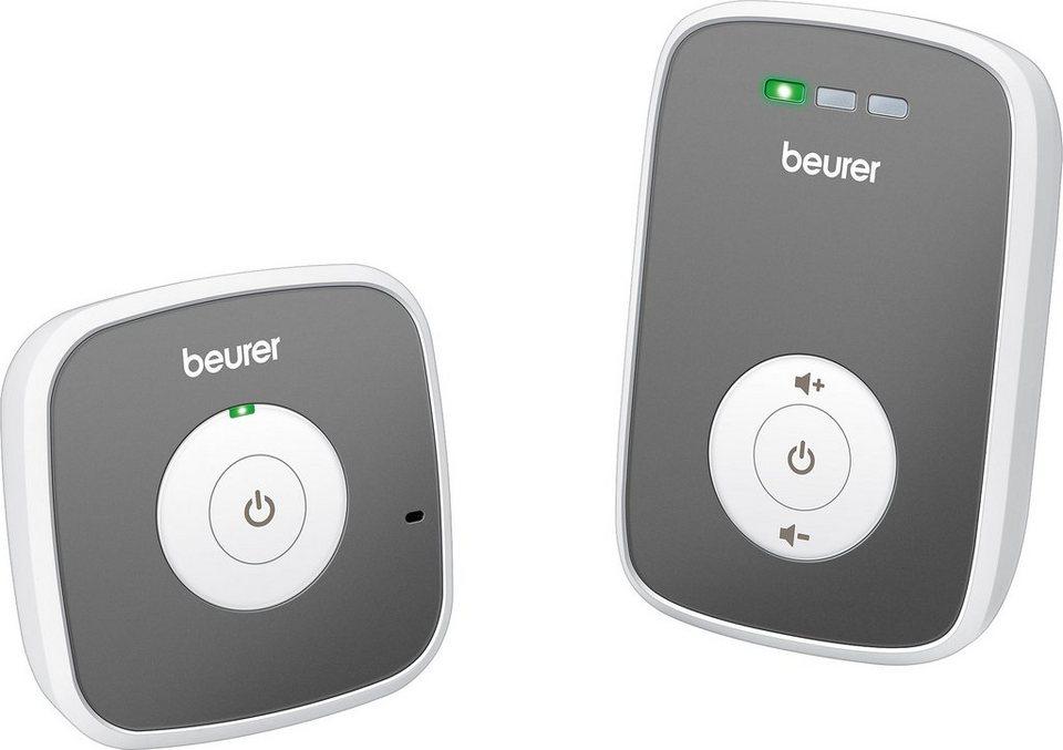 Beurer Babyphone BY 33 in Weiß/Grau
