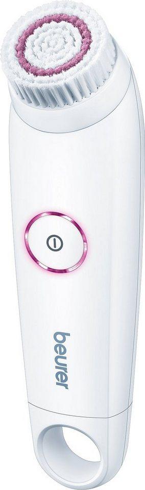 Beurer, Gesichtsreinigungsbürste, FC 45 in weiß/pink