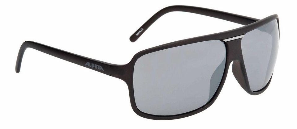 Alpina Radsportbrille »Manja« in schwarz