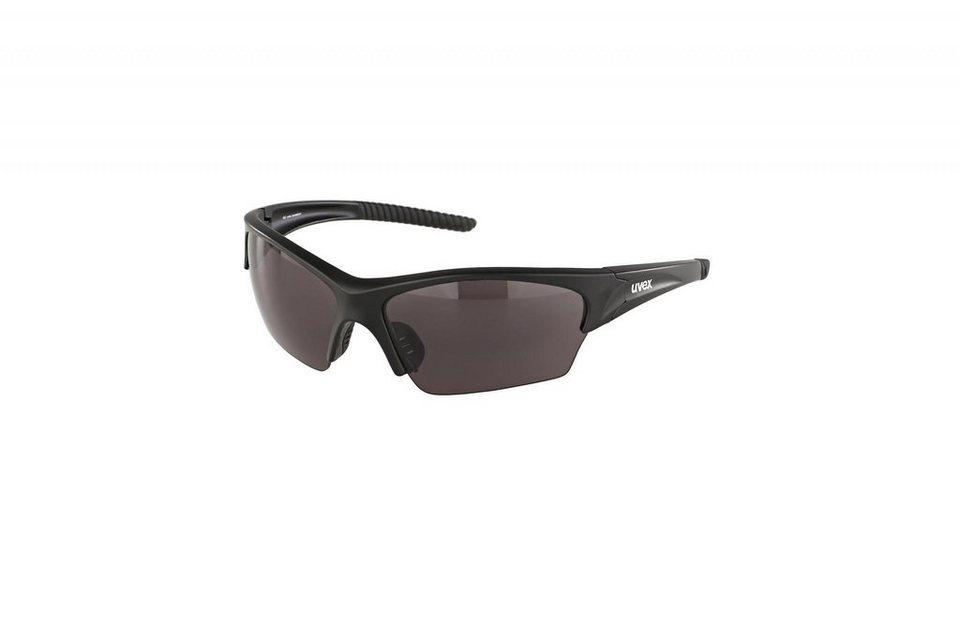 UVEX Radsportbrille »sunsation Brille« in schwarz