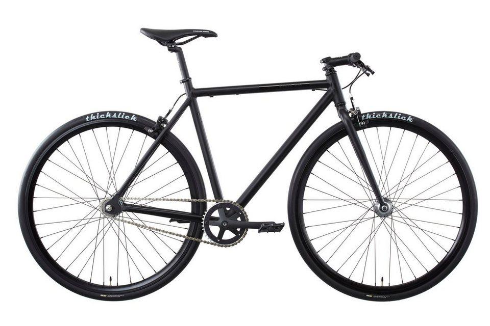 FIXIE Inc. Fahrrad »Floater twospeed black« in schwarz