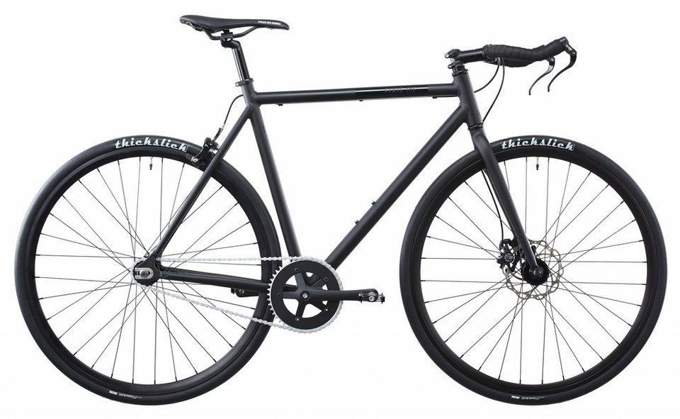 FIXIE Inc. Fahrrad »Peacemaker black« in schwarz