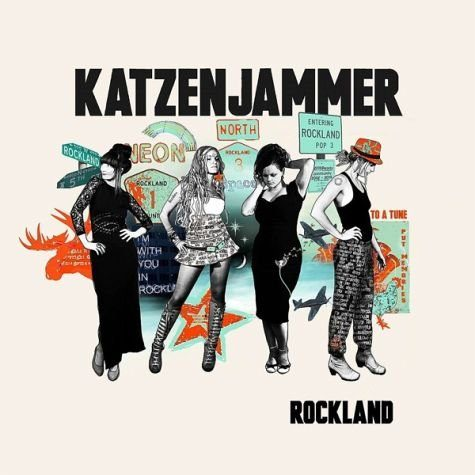 Audio CD »Katzenjammer: Rockland«