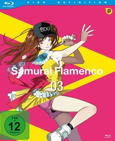 Blu-ray »Samurai Flamenco - Vol. 3«