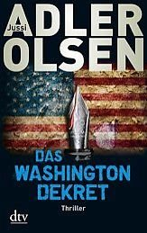 Broschiertes Buch »Das Washington-Dekret«