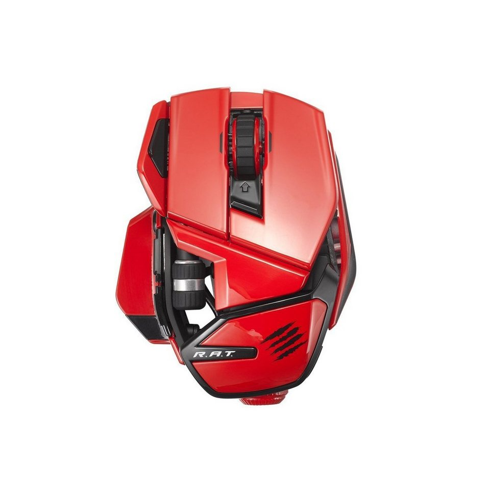 Mad Catz Office R.A.T. Mouse in Rot »(PC Tablet/Smartphone)«