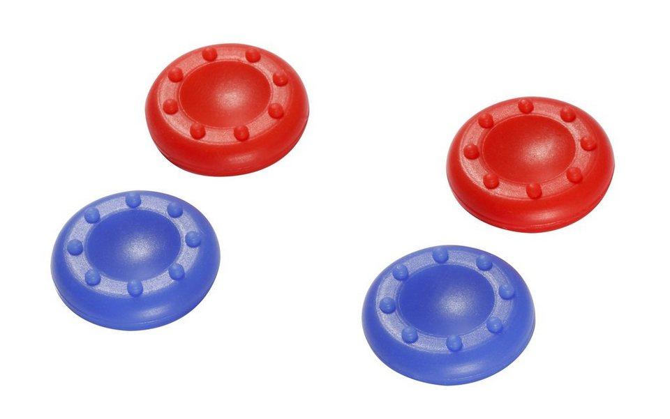 Snakebyte Stick Aufsätze control:caps (2x blau & 2x rot) »(PS4)«