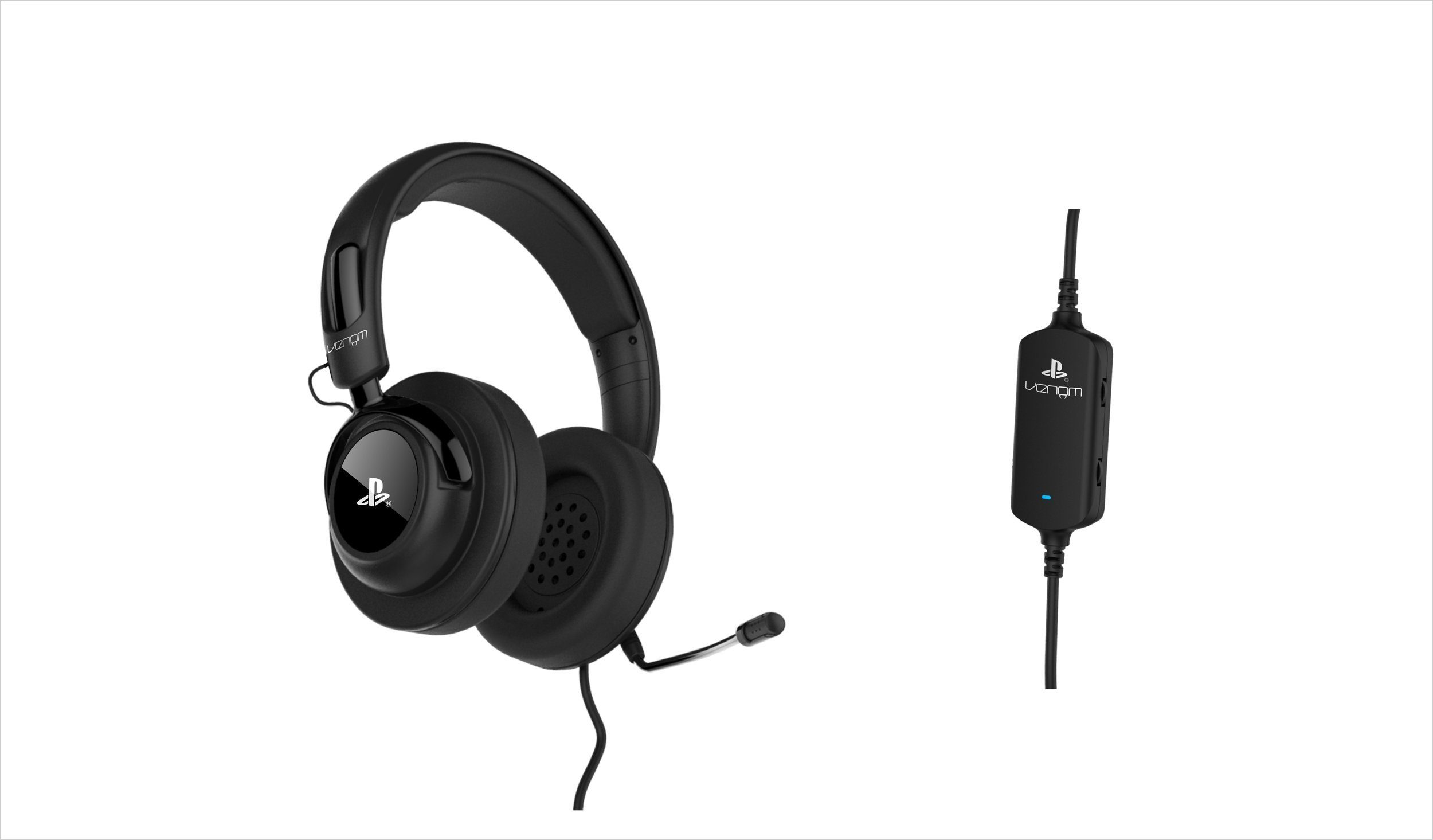 Snakebyte Sony Vibration Stereo Gaming Headset in Schwarz (Sony Lizenz) »(PS4 PS3)«
