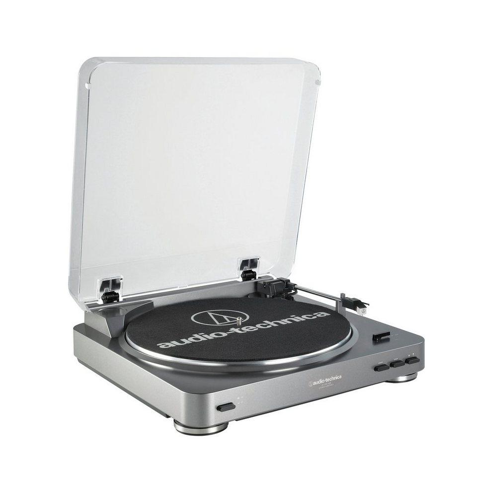 Audio-Technica USB Plattenspieler »AT-LP60« in silber