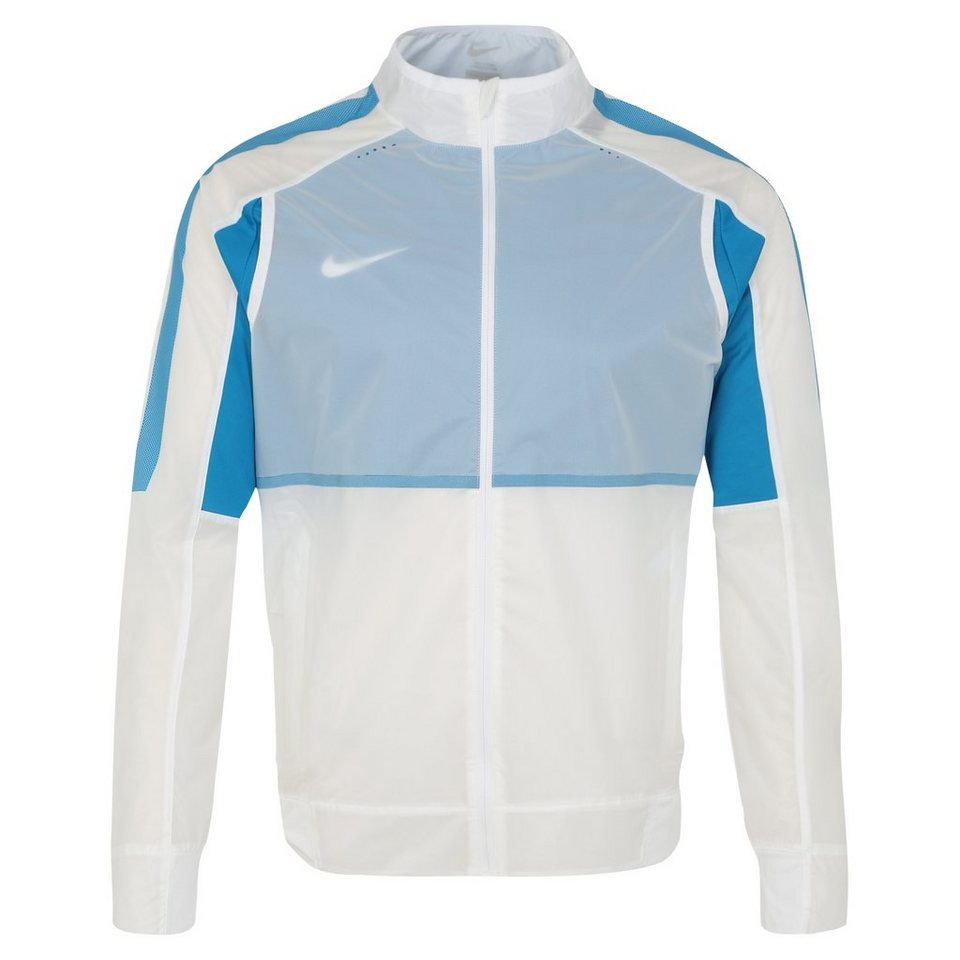NIKE Select Revolution Trainingsjacke Herren in weiß / blau