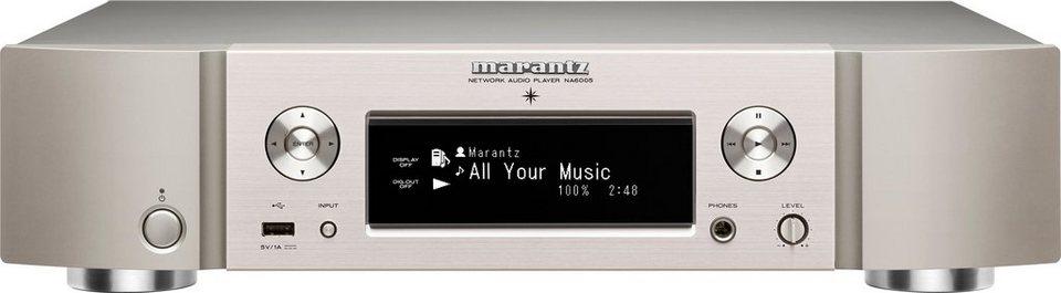 Marantz NA6005 Netzwerkplayer Bluetooth WLAN in Silber