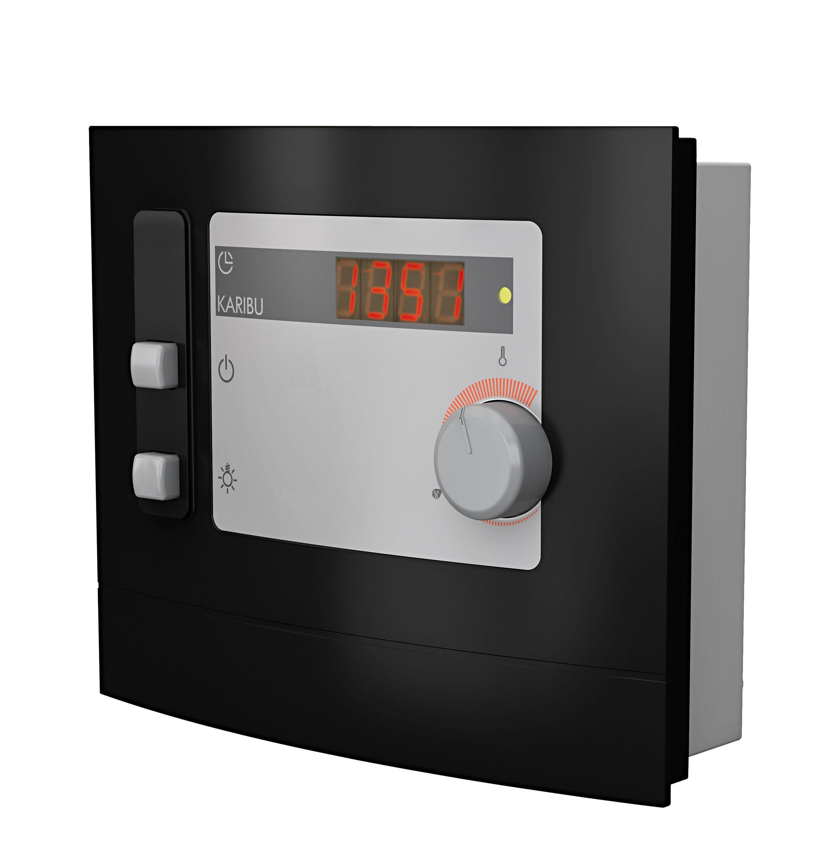 KARIBU Sauna-Steuergerät »Modern Finnisch«, für Finnische Saunaöfen,extern, 9 kW