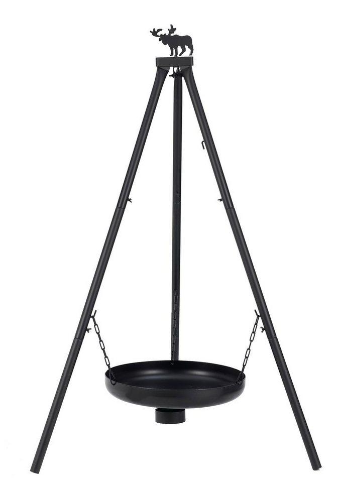 Holzkohlegrill »Melrose« in schwarz