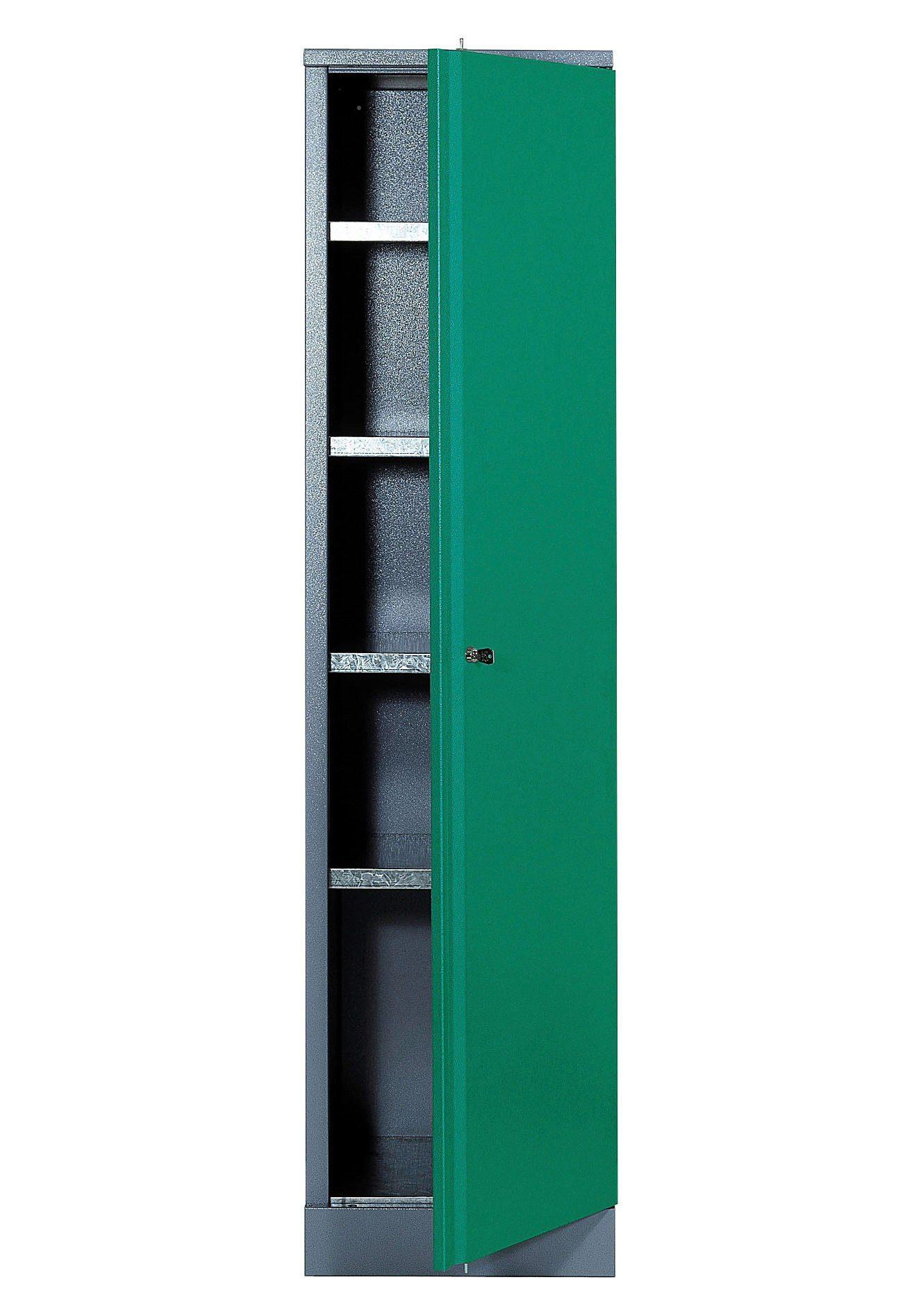 Küpper Hochschrank »1 Tür, 4 Einlegeböden, in grün«