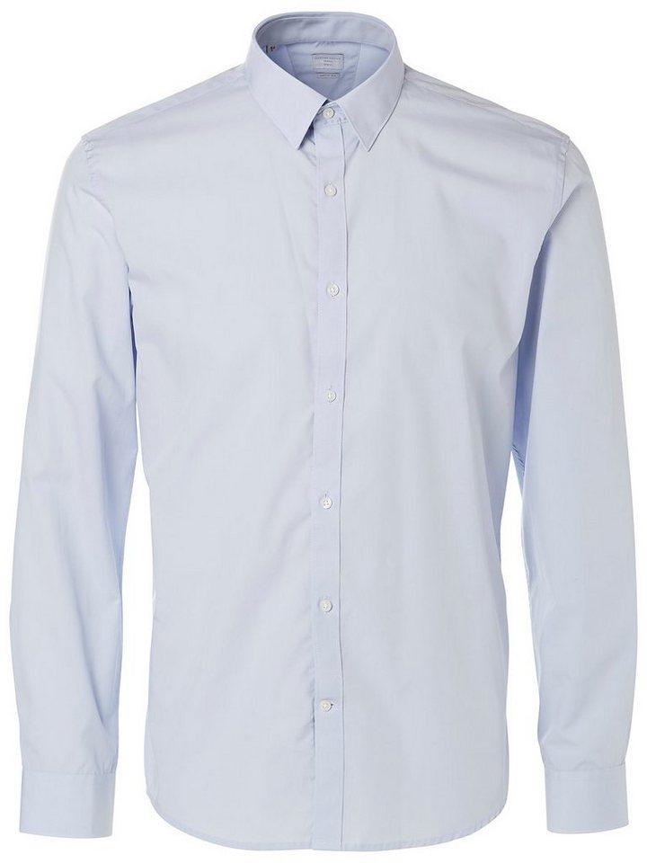 Selected Modern geschnittenes - Businesshemd in Sky Blue