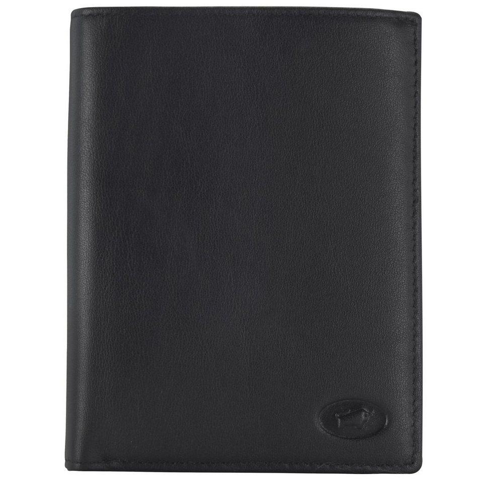 Braun Büffel Arizona Geldbörse Leder 10 cm in schwarz