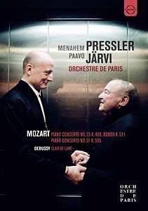 DVD »Klavierkonzerte 23+27/Rondo«