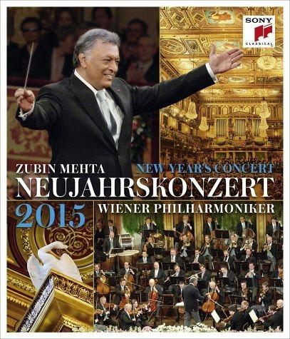 Blu-ray »Wiener Philharmoniker - Neujahrskonzert 2015«