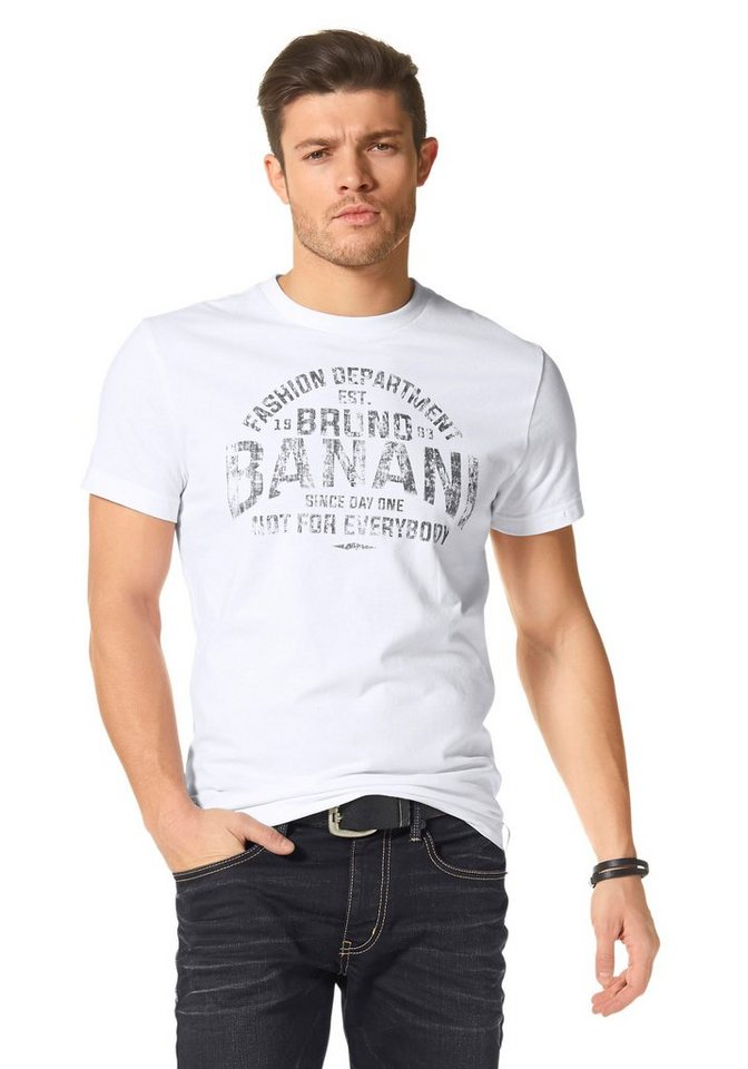 bruno banani t shirt online kaufen otto. Black Bedroom Furniture Sets. Home Design Ideas