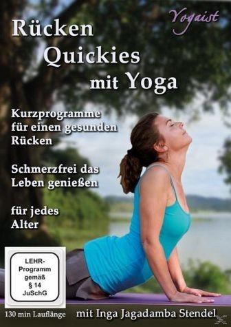 DVD »Rücken Quickies mit Yoga«