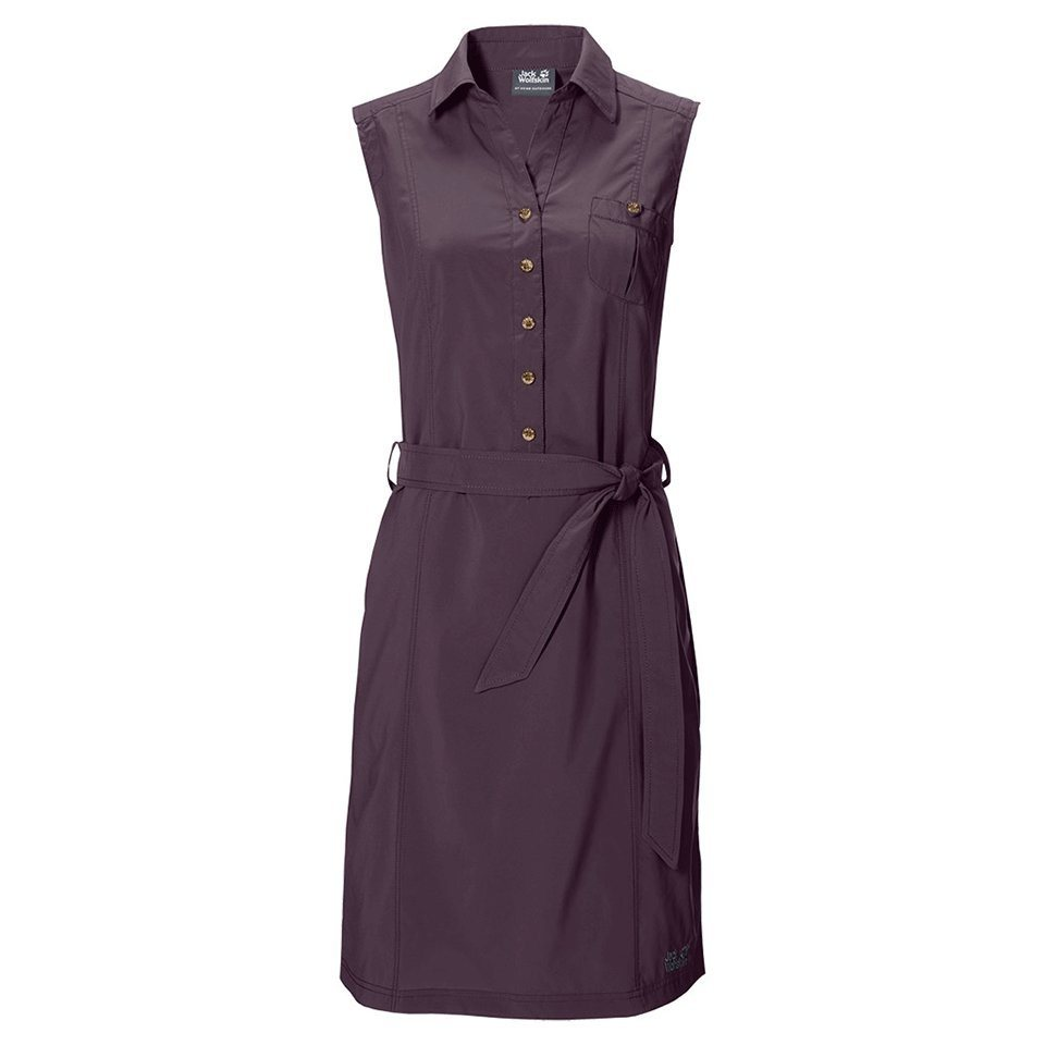 Jack Wolfskin Kleid »SONORA DRESS« in grapevine
