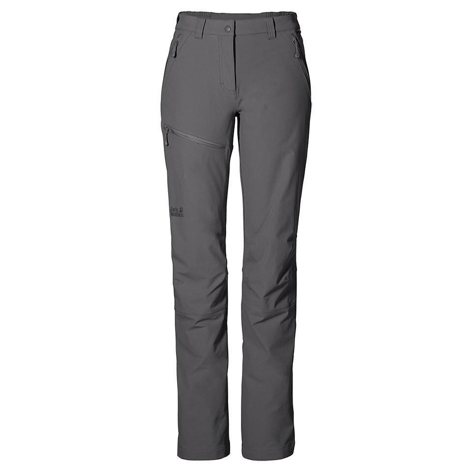 Jack Wolfskin Softshellhose »ACTIVATE PANTS WOMEN« in tarmac grey