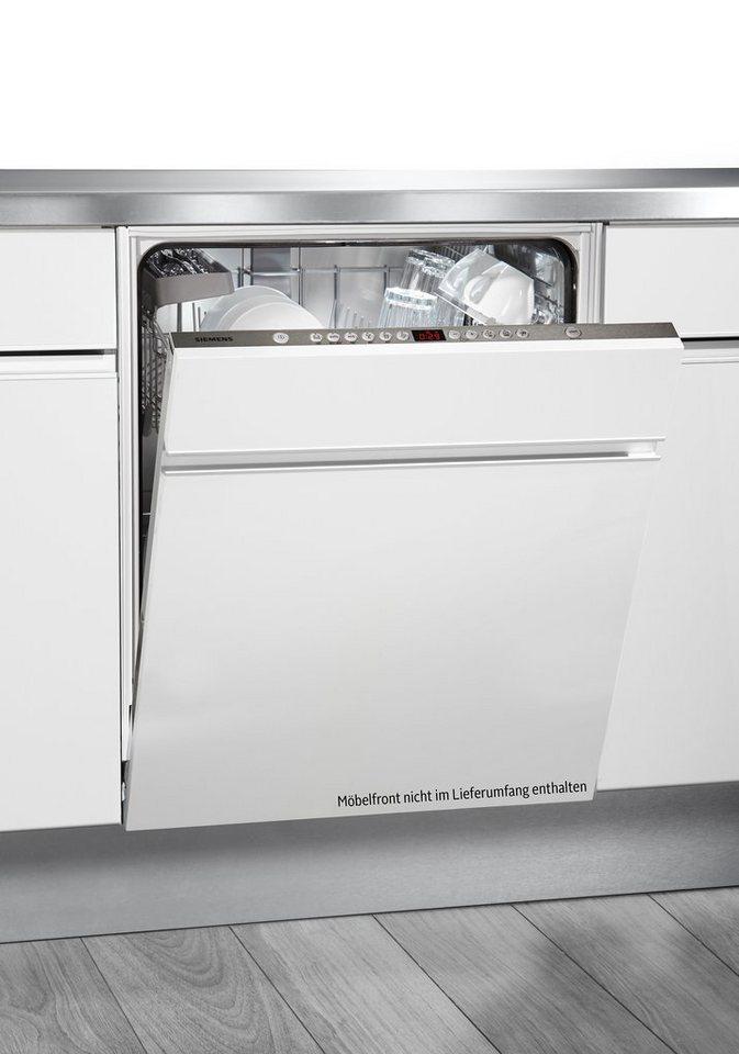 Siemens vollintegrierbarer Einbaugeschirrspüler SN66P032EU, A+++, 9,5 Liter, 13 Maßgedecke