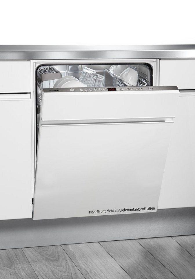 Siemens vollintegrierbarer Einbaugeschirrspüler SN66P052EU, A+++, 9,5 Liter, 13 Maßgedecke