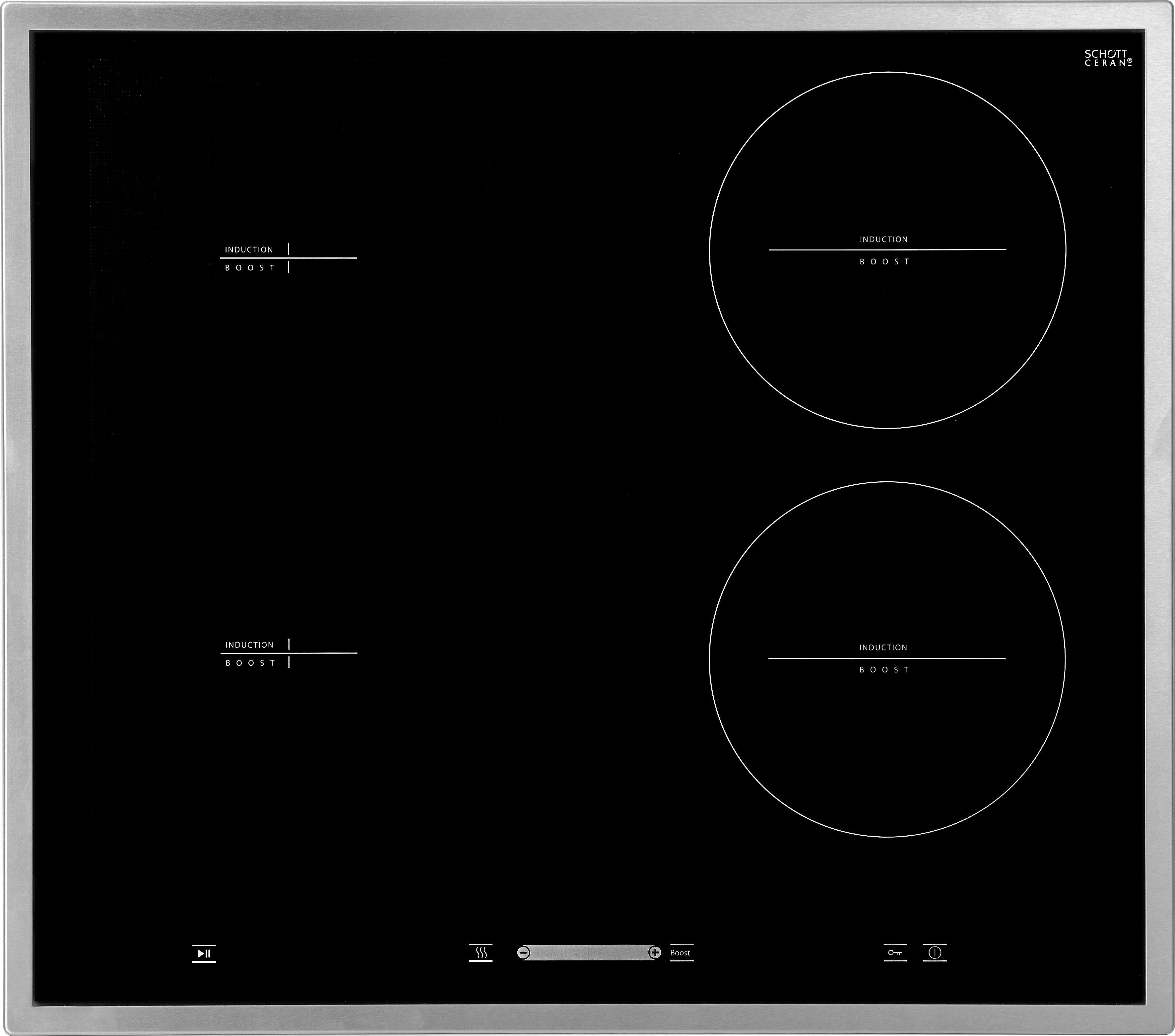 """Hanseatic Flex-Induktions-Kochfeld von Schott Ceran® """"MC-IF7222CF"""""""