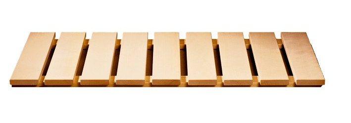Karibu Saunabodenrost, BxT: 100x46,5 cm | Bad > Sauna & Zubehör > Sauna-Zubehör | Karibu