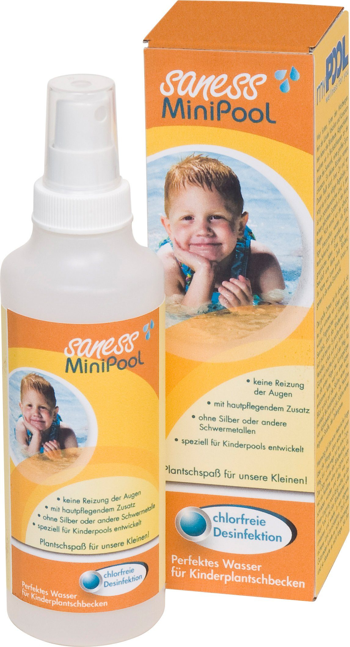 MYPOOL Wasserpflege »Saness MiniPool«, 250 ml