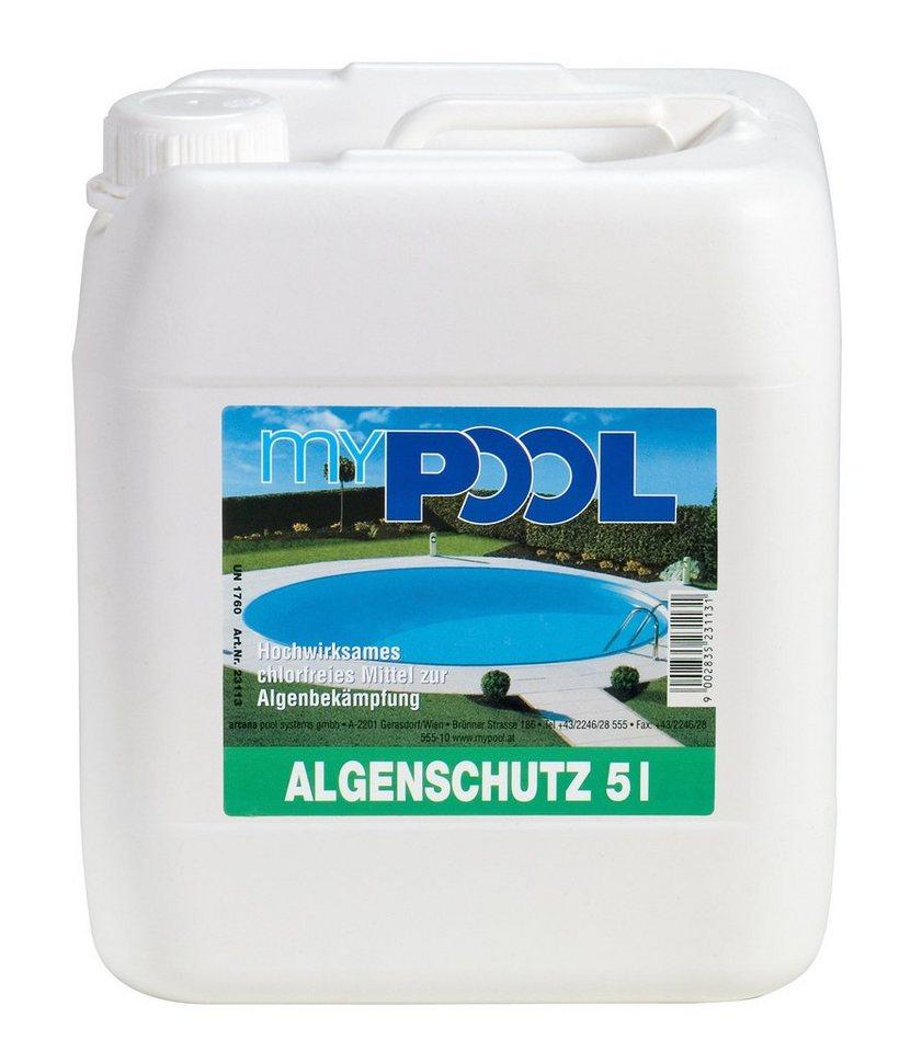Mypool Algenschutzmittel »MY Algenschutz 5 Liter« in weiß