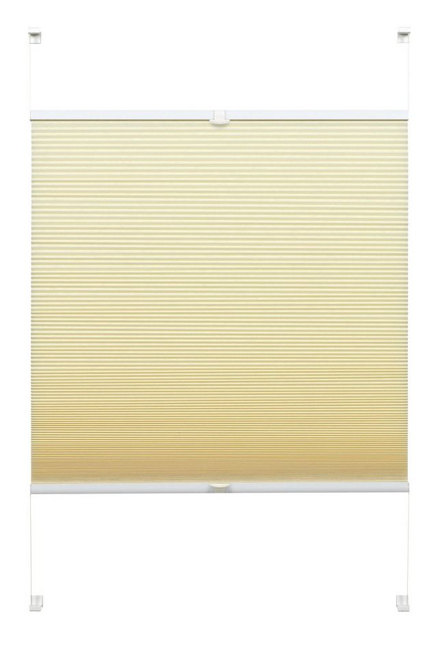 wabenplissee easyfix wabenplissee gardinia lichtschutz energiesparend ohne bohren. Black Bedroom Furniture Sets. Home Design Ideas