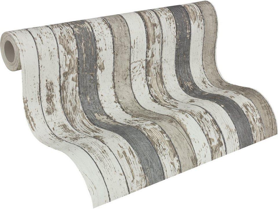 vliestapete livingwalls dekora natur in vintage. Black Bedroom Furniture Sets. Home Design Ideas
