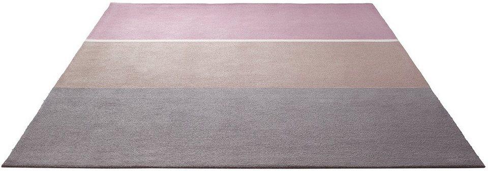 Teppich, Esprit, »Winter Coziness«, handgetuftet in altrose