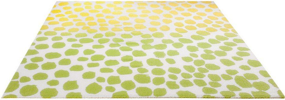 Teppich, Esprit, »Snugs«, gewebt in gelb
