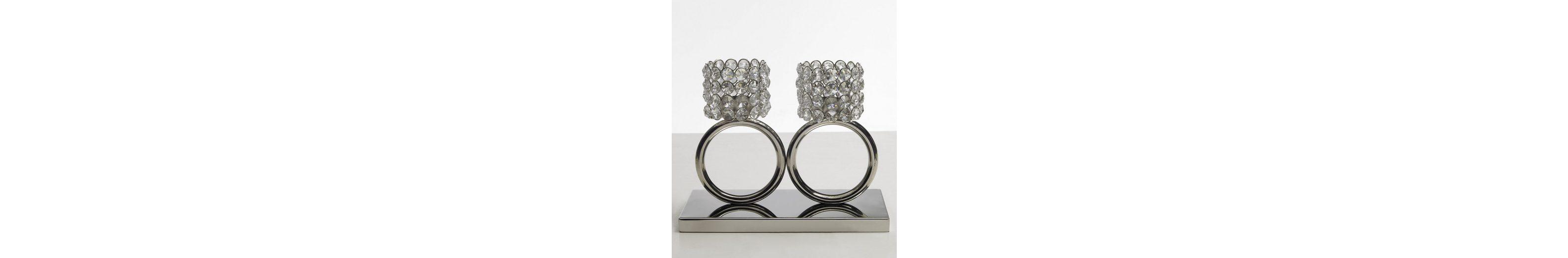 Premium collection by Home affaire Teelichthalter »Kristall«