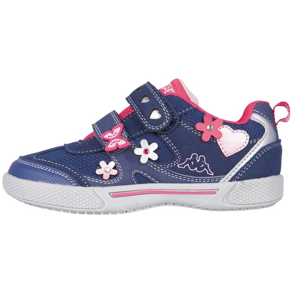 KAPPA Sneaker »AMASIA KIDS« in navy/pink