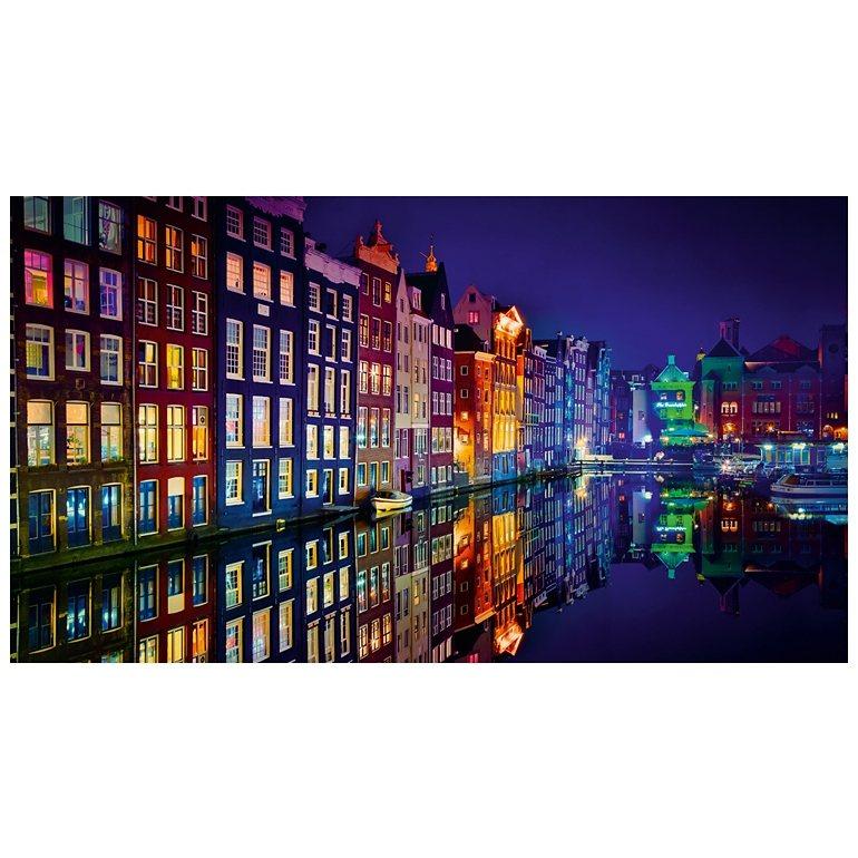 Eurographics Acrylbild Top Label Acryl 180 x 100 cm »Amsterdam« in blau
