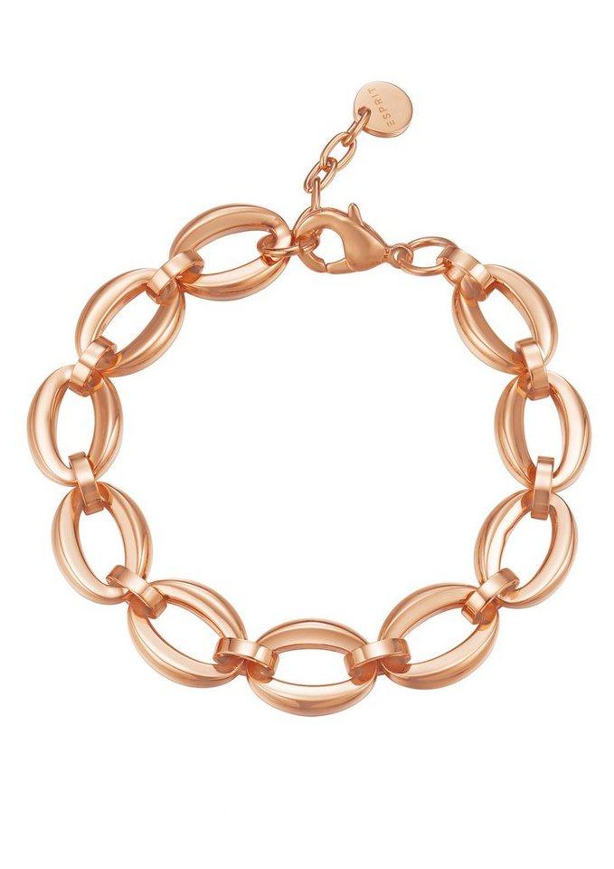 """ESPRIT Armband """"ESPRIT-JW50137 Rose, ESBR11869C180"""" in roségoldfarben"""