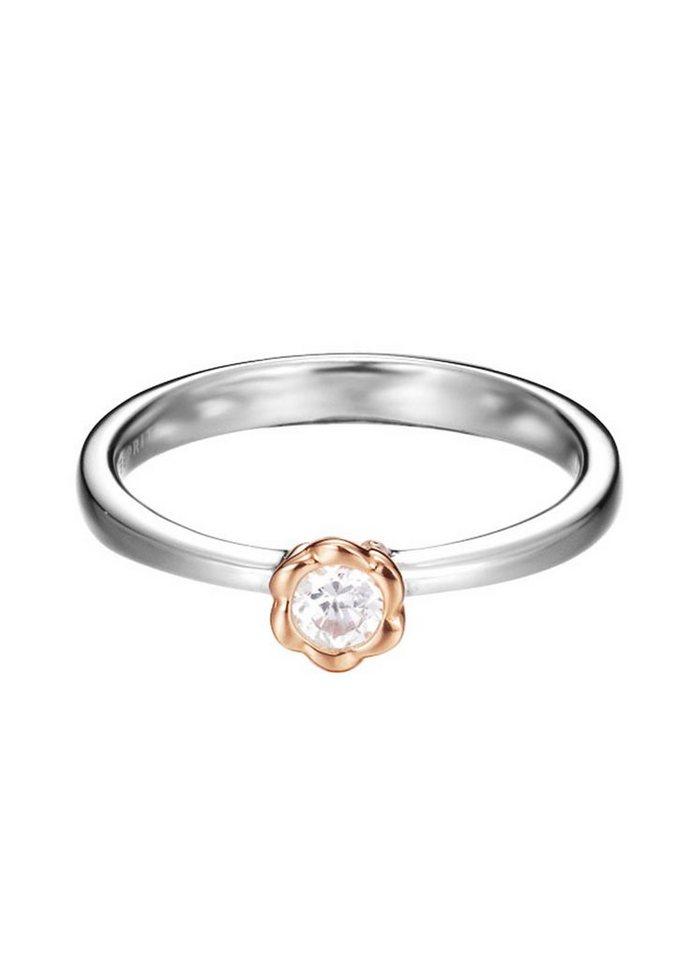 """ESPRIT Ring """"ESPRIT-JW50165 Rose, ESRG92502A"""" in Silber 925/bicolor"""