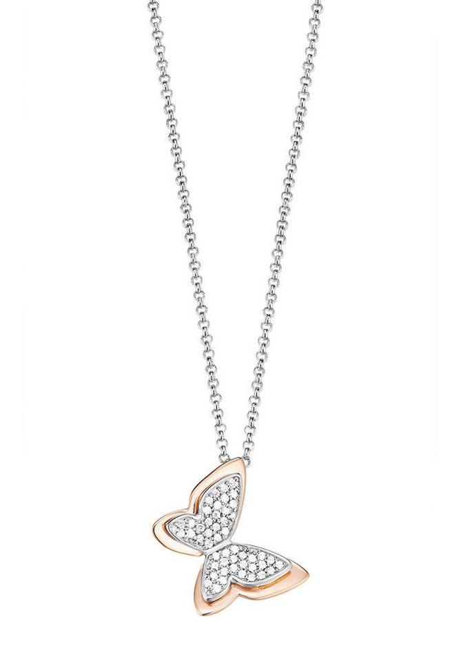 "ESPRIT Kette ""ESPRIT-JW50160 Bicolor, ESNL93145A420"" in Silber 925/bicolor"