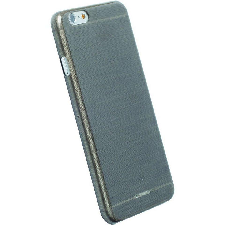 Krusell Handytasche »FrostCover für Apple iPhone 6, Schwarz/Clear« in Schwarz