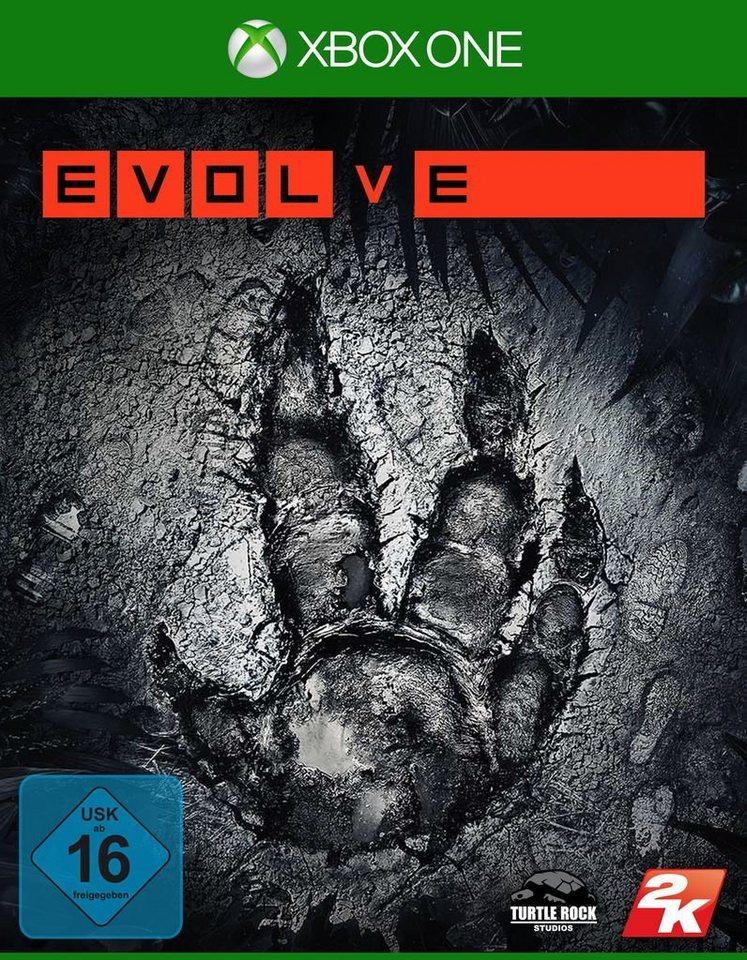 Take 2 XBOX One - Spiel »Evolve«