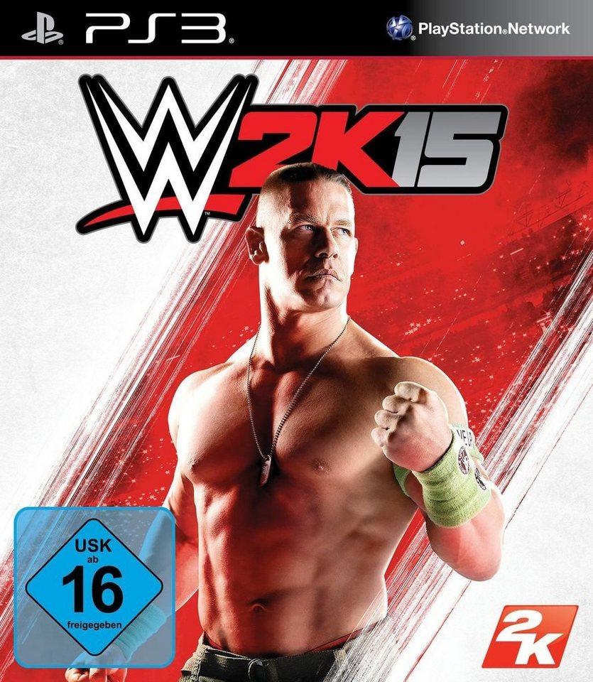 2K Sports Playstation 3 - Spiel »WWE 2K15«