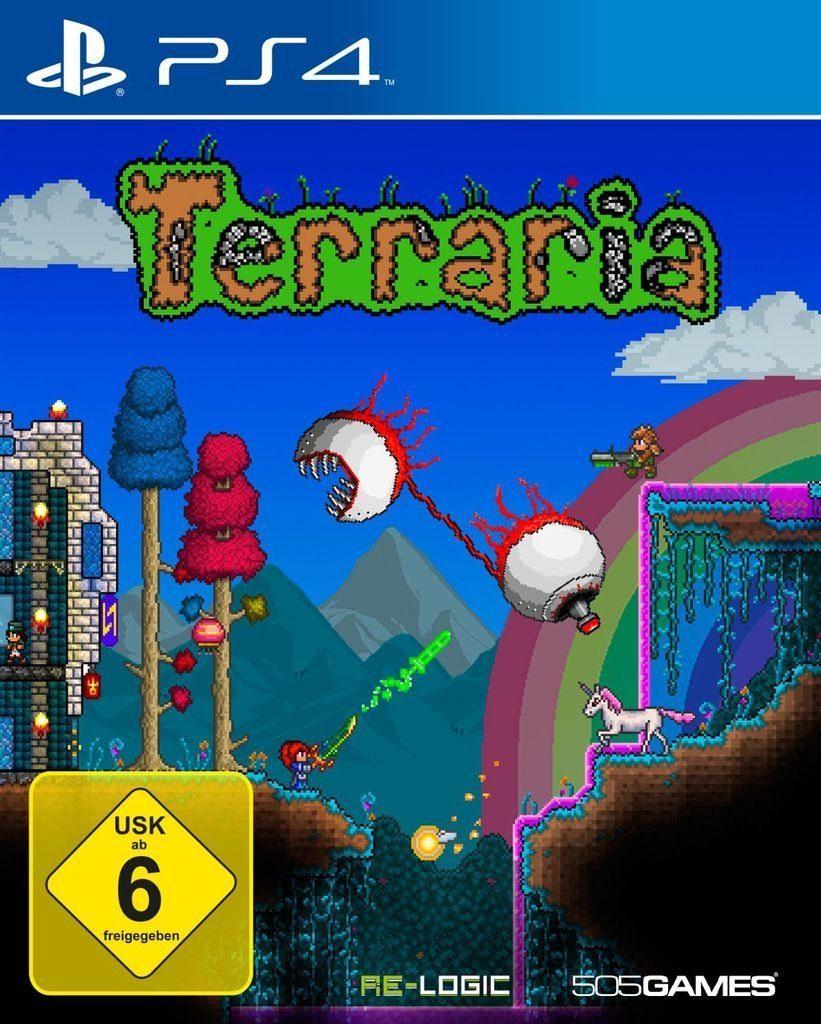 505 Games Playstation 4 - Spiel »Terraria«